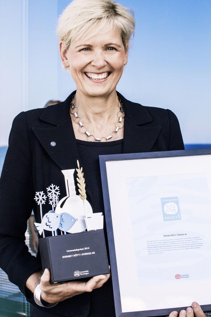 Maria Forshufvud, VD på Svenskt Kött