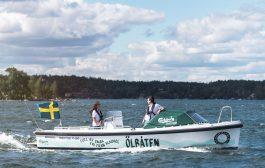 Ölbåten bjuder på öl i skärgården