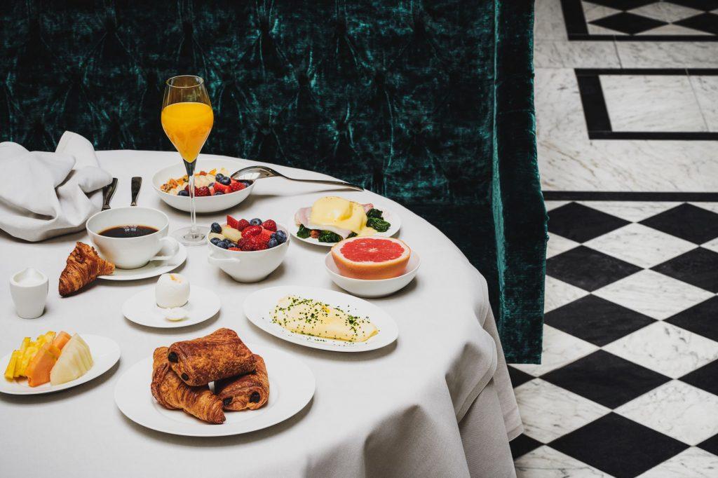 Bank Hotel, food. Fotograf Mathias Nord