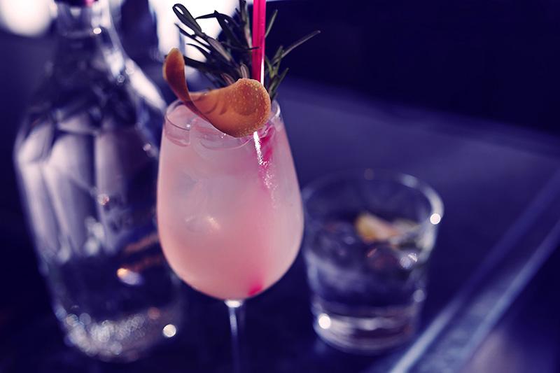 Rosmarin + grapefrukt + Purity Vodka= fräsch svalka och sofistikerade smakupplevelser