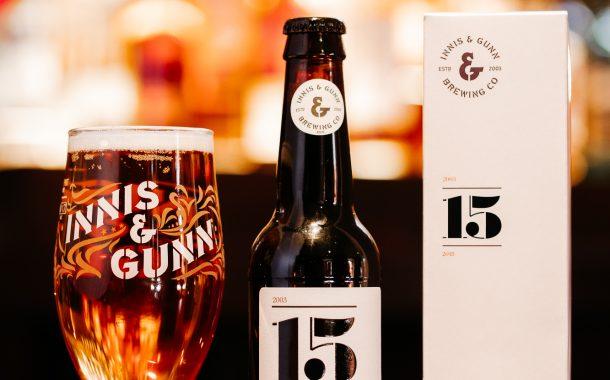 Succébryggeriet Innis & Gunn firar 15 år och lanserar unik jubileumsöl