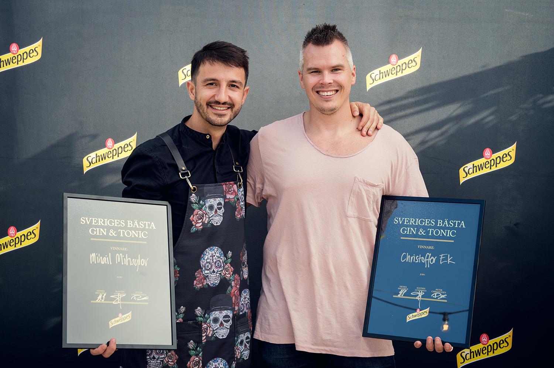 """Schweppes prestigefulla tävling """"Sveriges Bästa Gin & Tonic"""" är redan avgjord"""