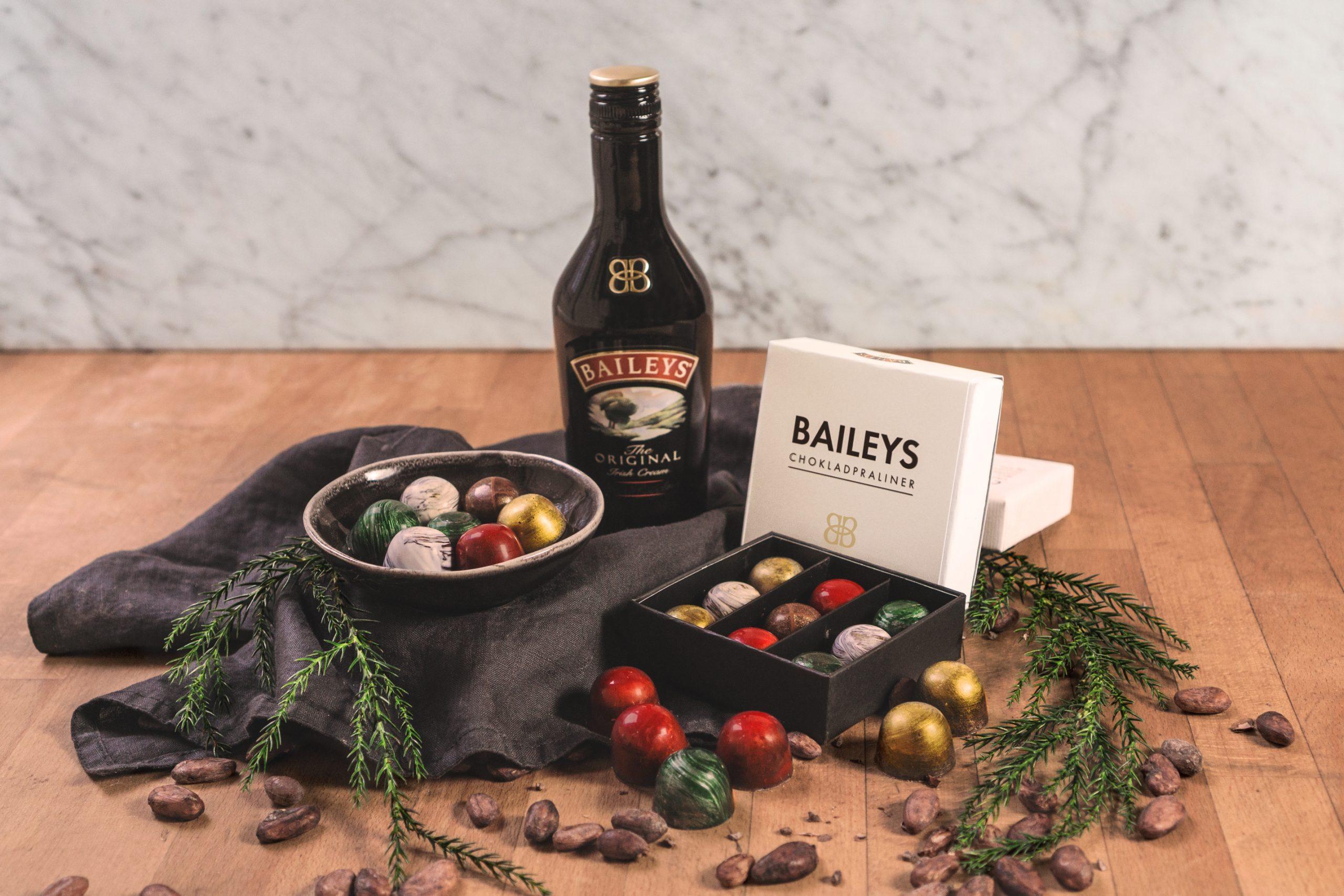Baileys och Chokladfabriken tolkar den klassiska pralinasken till jul