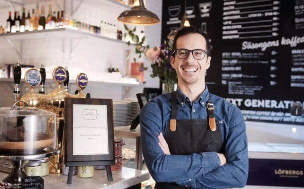 Alex representerar Sverige på VM i Latte Art